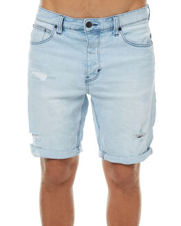 RIPPED BLEACH MENS CLOTHING A.BRAND SHORTS - 803561522