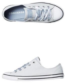 PURE PLATINUM WOMENS FOOTWEAR CONVERSE SNEAKERS - 560641PLAT
