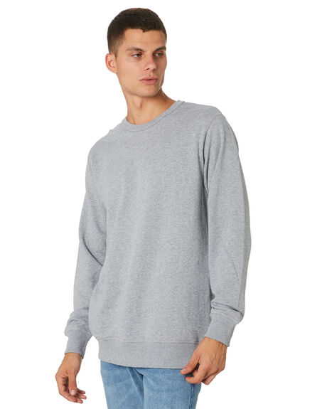 GREY MARLE MENS CLOTHING AS COLOUR JUMPERS - 5121GRYML