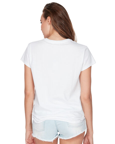 WHITE WOMENS CLOTHING BILLABONG TEES - BB-6591132-WHT
