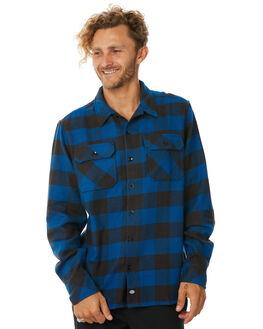 BLUE MENS CLOTHING DICKIES SHIRTS - K1181103BU