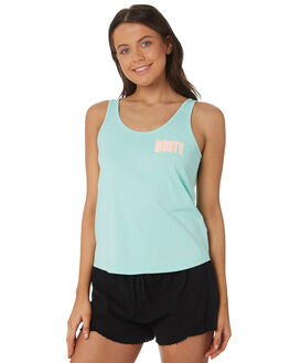 MINT LEAF WOMENS CLOTHING RUSTY SINGLETS - TSL0553-MLF