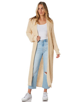 BEIGE WOMENS CLOTHING ALL ABOUT EVE KNITS + CARDIGANS - 6453038BEIG