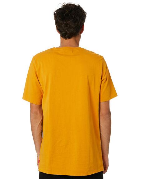 GOLD MENS CLOTHING GLOBE TEES - GB02030004GLD
