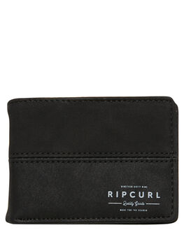BLACK MENS ACCESSORIES RIP CURL WALLETS - BWUKN20090