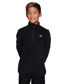 BLACK KIDS BOYS QUIKSILVER JUMPERS + JACKETS - EQBFT03513-KVJ0