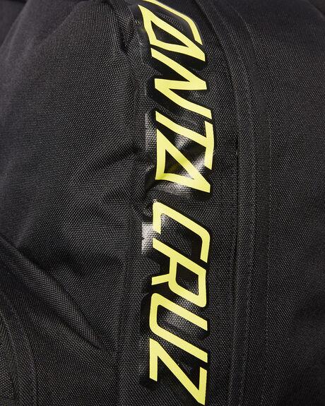BLACK MENS ACCESSORIES SANTA CRUZ BAGS + BACKPACKS - SC-MAA0593BLK