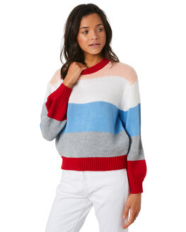 MULTI WOMENS CLOTHING LULU AND ROSE KNITS + CARDIGANS - LU23710MUL