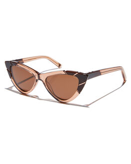BROWN WOMENS ACCESSORIES PARED EYEWEAR SUNGLASSES - PE1801BBBRN