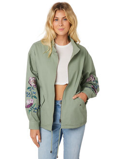 TREETOP WOMENS CLOTHING BILLABONG JACKETS - 6586894TREE