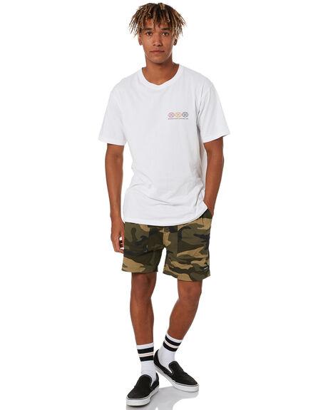 WHITE MENS CLOTHING RPM TEES - 20SM04B1WHT