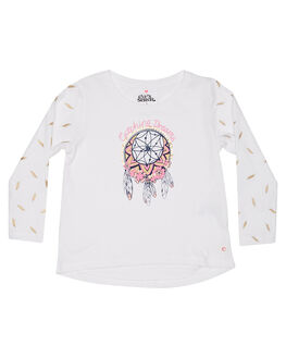 WHITE KIDS TODDLER GIRLS EVES SISTER TEES - 8010056WHT