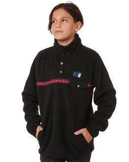 BLACK KIDS BOYS RIP CURL JUMPERS + JACKETS - KFEQV10090