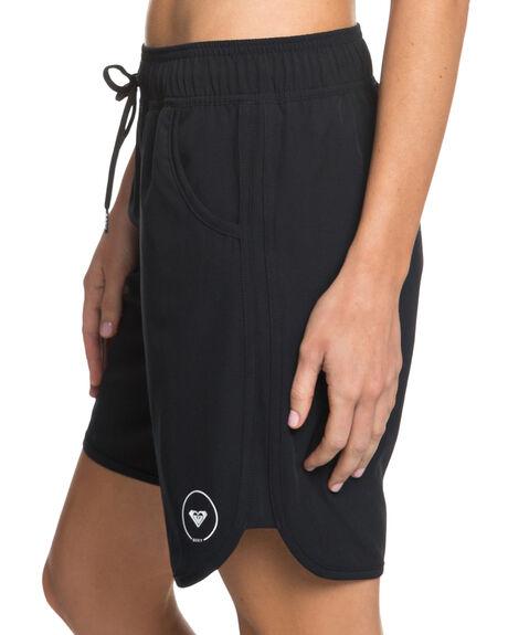 ANTHRACITE WOMENS CLOTHING ROXY ACTIVEWEAR - ERJBS03113KVJ0