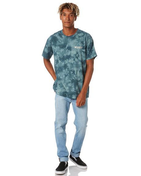 PINE GREEN MENS CLOTHING WRANGLER TEES - 901753NF5