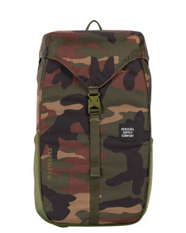 WOODLAND CAMO MENS ACCESSORIES HERSCHEL SUPPLY CO BAGS + BACKPACKS - 10270-01825-OSWOOD