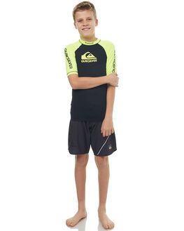 SAFETY YELLOW BLACK BOARDSPORTS SURF QUIKSILVER BOYS - EQBWR03039XGGK