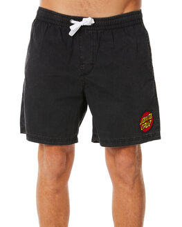 ACID BLACK MENS CLOTHING SANTA CRUZ BOARDSHORTS - SC-MBNC263ACBLK