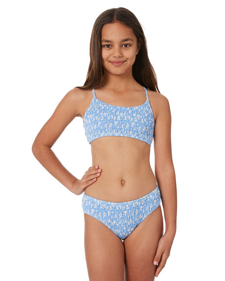 SUMMER BLUE KIDS GIRLS SEAFOLLY SWIMWEAR - 27132-173BLU