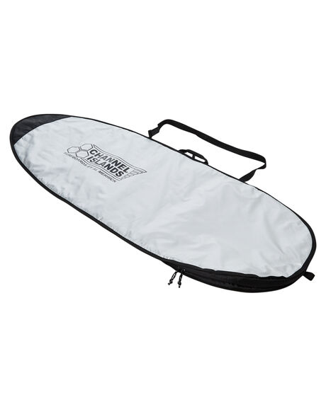 SILVER BLACK BOARDSPORTS SURF CHANNEL ISLANDS BOARDCOVERS - 1627910007061SLVBK