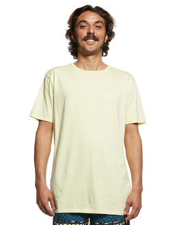 YELLOW IRIS MENS CLOTHING QUIKSILVER TEES - EQYKT03902-YZJ0