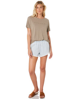 STONE WOMENS CLOTHING THRILLS TEES - WTS8-105CSTO
