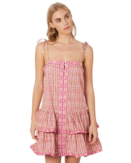 PINK WOMENS CLOTHING TIGERLILY DRESSES - T305414PNK