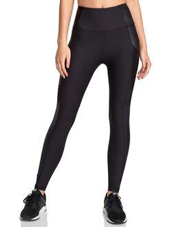 BLACK WOMENS CLOTHING RVCA ACTIVEWEAR - RV-R407880-BLK