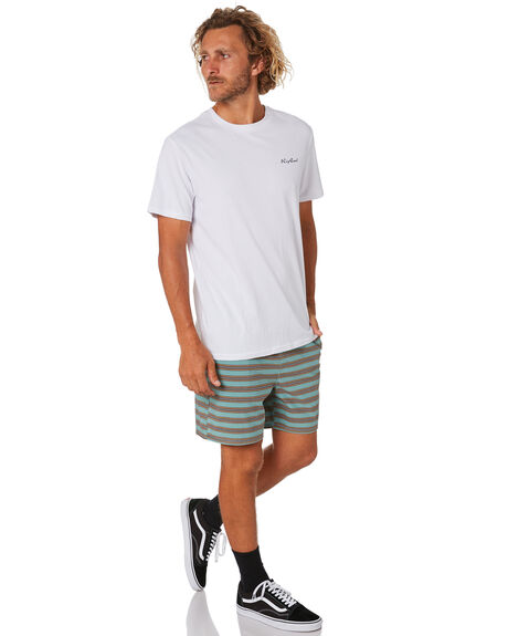 WHITE MENS CLOTHING RIP CURL TEES - CTEWD21000