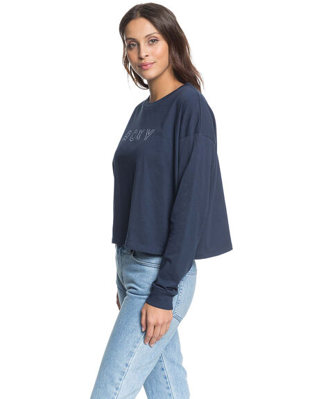 MOOD INDIGO WOMENS CLOTHING ROXY TEES - ERJZT04882-BSP0
