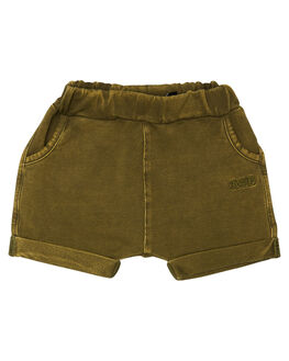 KHAKI WASH KIDS BABY ROCK YOUR BABY CLOTHING - BBP1819-KWKHAW