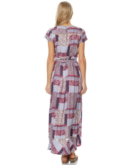 DELILAH PATCHWORK WOMENS CLOTHING O'NEILL DRESSES - 4021605DEPA
