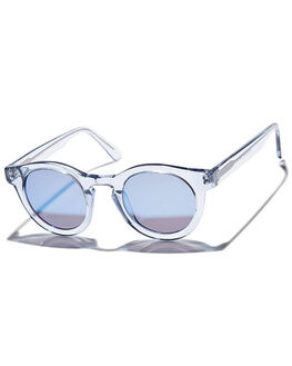 TRANSPARENT LIGHT BLUE MENS ACCESSORIES SUNDAY SOMEWHERE SUNGLASSES - SUN016-LTB-SUN