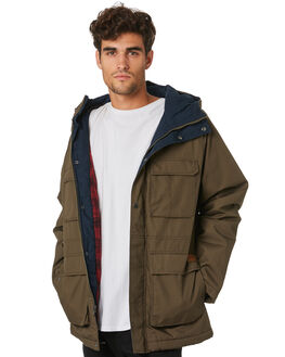 MAJOR BROWN MENS CLOTHING VOLCOM JACKETS - A1731907MBR