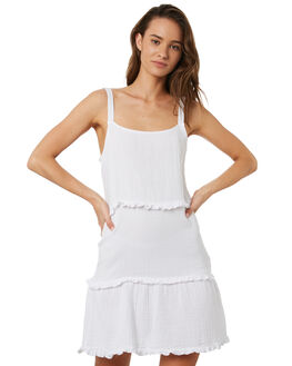 WHITE WOMENS CLOTHING SWELL DRESSES - S8201449AWHITE