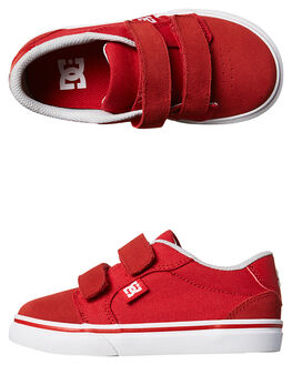 RED KIDS TODDLER BOYS DC SHOES FOOTWEAR - ADTS300005600