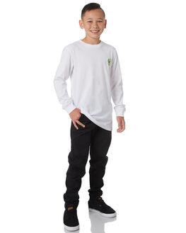 OPTIC WHITE KIDS BOYS ELEMENT TEES - 383052OPWHT
