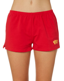 POP RED WOMENS CLOTHING SANTA CRUZ SHORTS - SC-WWD8720POPR