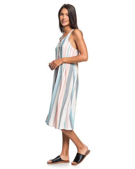 SNOW WHITE WOMENS CLOTHING ROXY DRESSES - ERJWD03371-WBK3