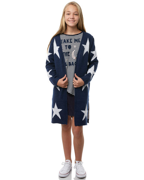 NAVY KIDS GIRLS EVES SISTER JUMPERS - 9910052NVY