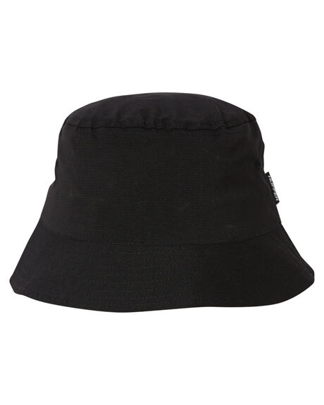 BLACK MENS ACCESSORIES HUFFER HEADWEAR - ABU03S4102BLK