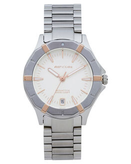 SILVER WOMENS ACCESSORIES RIP CURL WATCHES - A3132G0544