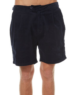 NAVY BLUE OUTLET MENS RUSTY SHORTS - WKM0904NVB