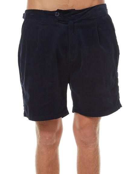 NAVY BLUE MENS CLOTHING RUSTY SHORTS - WKM0904NVB