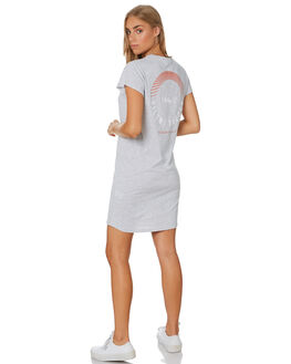GREY MARLE WOMENS CLOTHING SILENT THEORY DRESSES - 6008038GRM