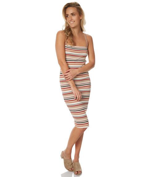 RETRO STRIPE WOMENS CLOTHING AFENDS DRESSES - 51-03149RETRO