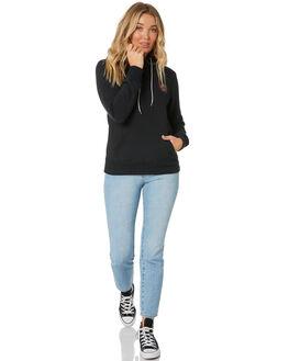 BLACK WOMENS CLOTHING SANTA CRUZ JUMPERS - SC-WFA0093BLK