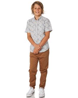 NEW COFFEE KIDS BOYS ACADEMY BRAND PANTS - B19S104NCOF