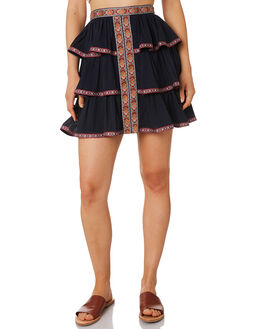 MIDNIGHT OUTLET WOMENS TIGERLILY SKIRTS - T393270MID