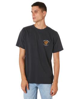 VINTAGE BLACK MENS CLOTHING THRILLS TEES - TH9-120VBVNBLK
